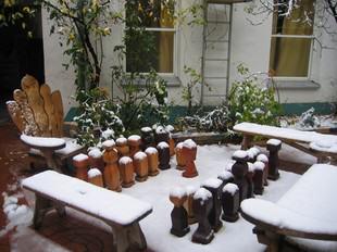 ウィーンの雪景色