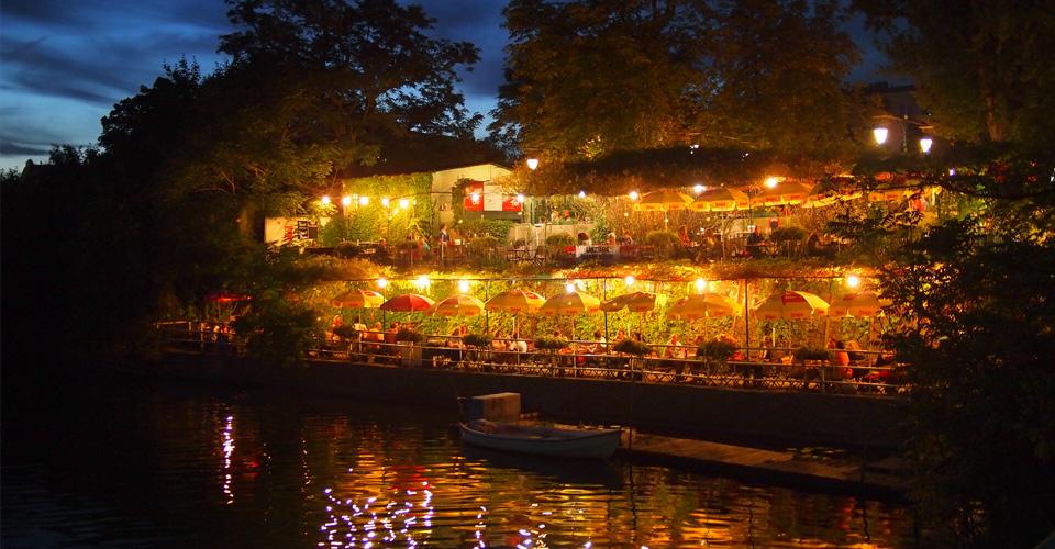 다뉴브 도나우 비엔나 레스토랑 식당 호스텔 저녁식사