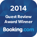 booking.com Guest Review Award of Excellence