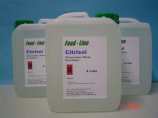 organic citric acid used for cleaning faucets, showers etc.