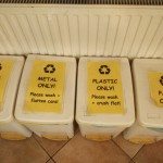 hostel ruthensteiner receycling bins